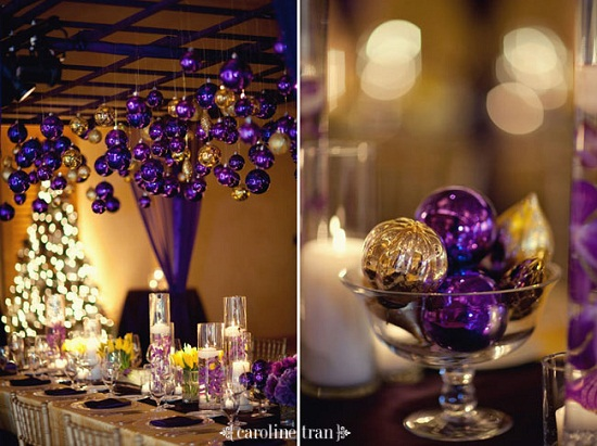 decoração casamento natal 1