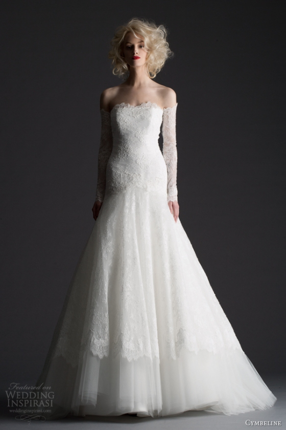 cymbeline-2014-honda-romantic-wedding-dress-off-shoulder-long-sleeves