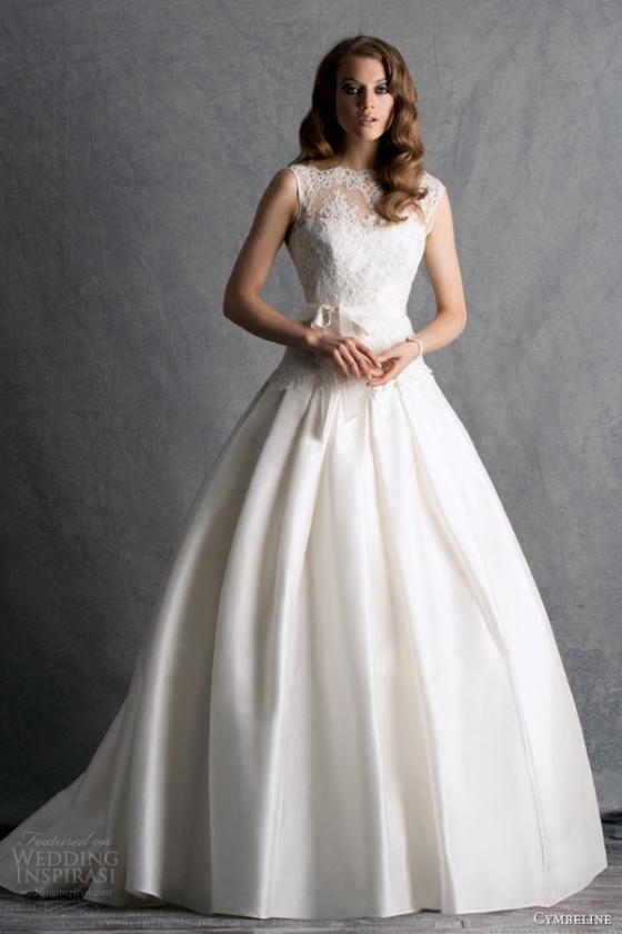 cymbeline-bridal-2014-harmo-ball-gown-illusion-straps-neckline