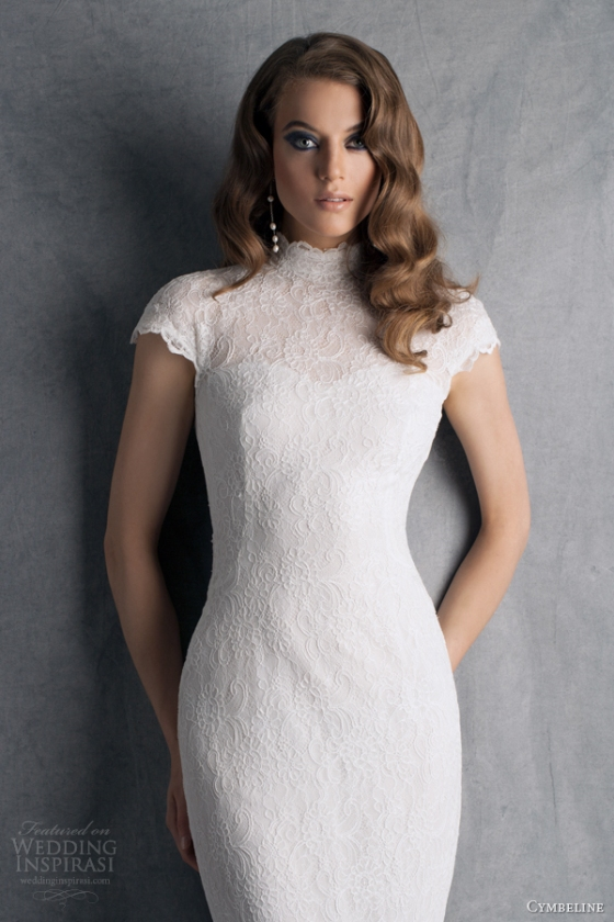 cymbeline-wedding-dresses-2014-bridal-hobbie-cap-sleeve-lace-gown-keyhole-back-high-neck