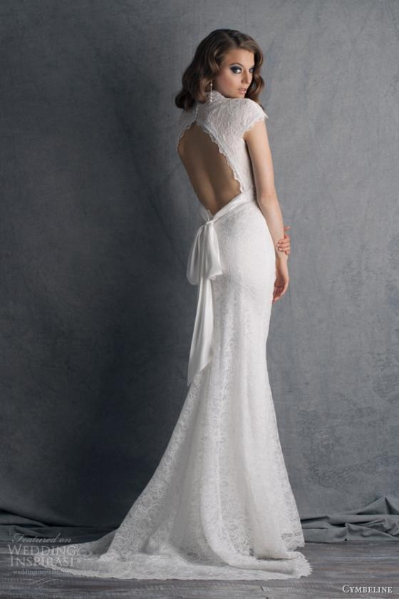 cymbeline-wedding-dresses-2014-bridal-hobbie-cap-sleeve-lace-gown-keyhole-back