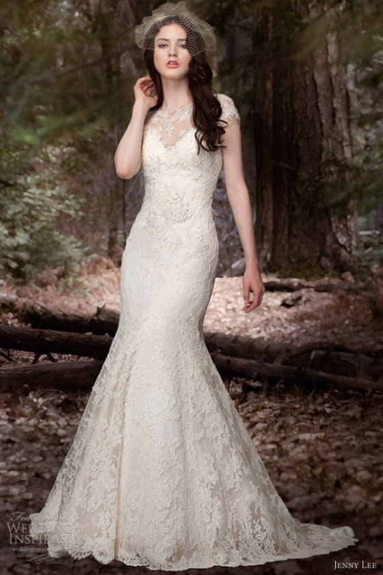 jenny-lee-bridal-spring-2013-cap-sleeve-mermaid-gown-1309