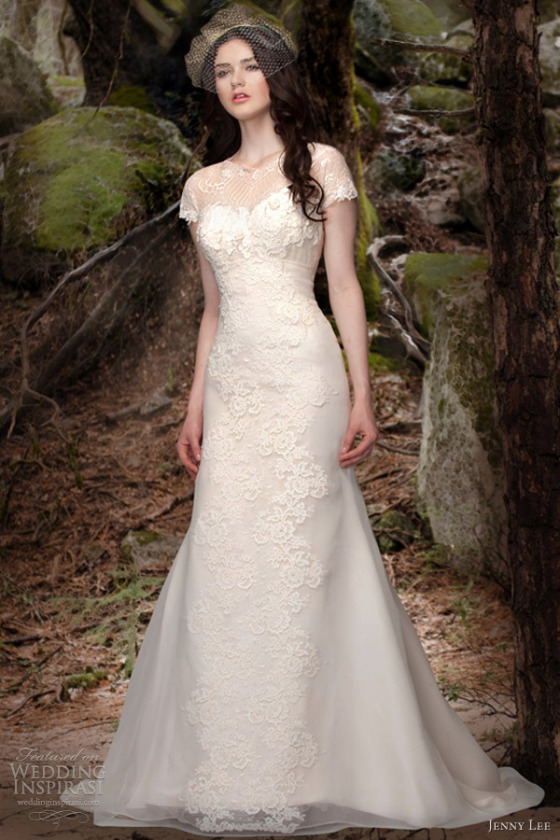 jenny-lee-bridal-spring-2013-wedding-dresses-1304-short-sleeve-gown