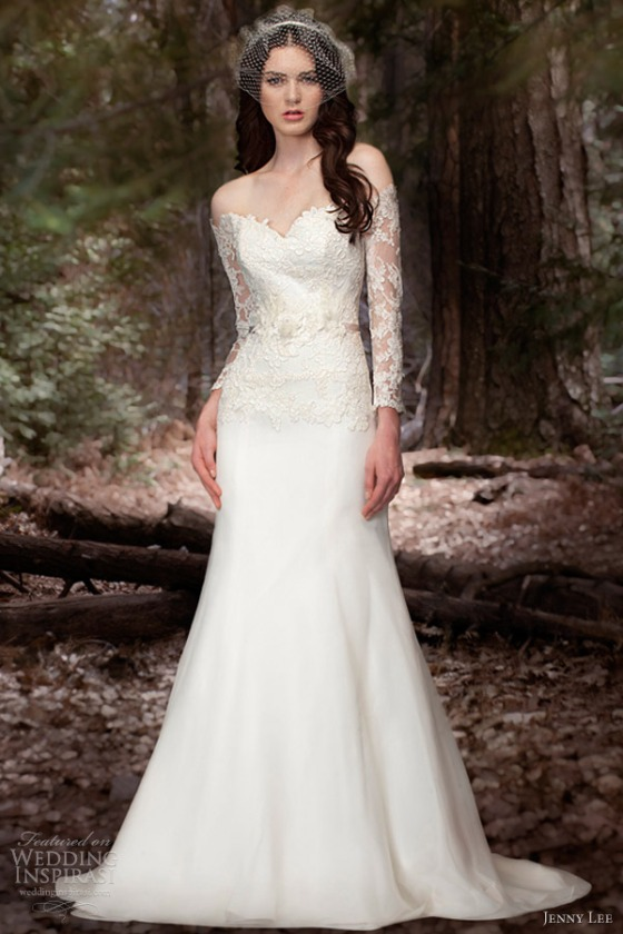 jenny-lee-wedding-dresses-spring-2013-long-sleece-gown-style-1306